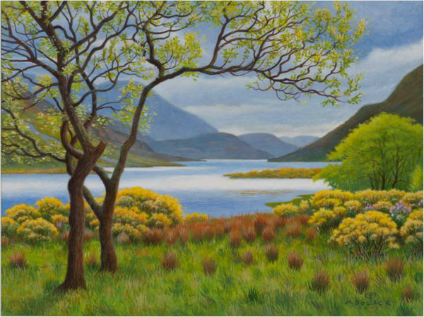 Springtime in the Highlands by Monte Dolack
